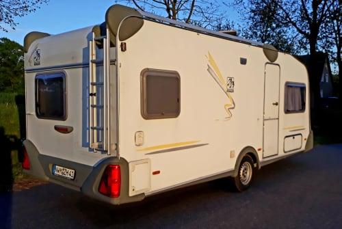 Caravan Knaus Ostseeperle  in Neuburg huren van particulier