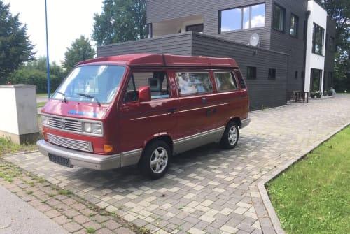 Kampeerbus VW Red Chili in Mannheim huren van particulier