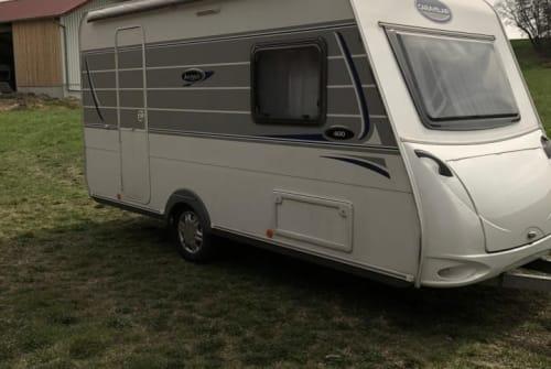 Caravan Caravelair  Gustl in Hohenkammer huren van particulier