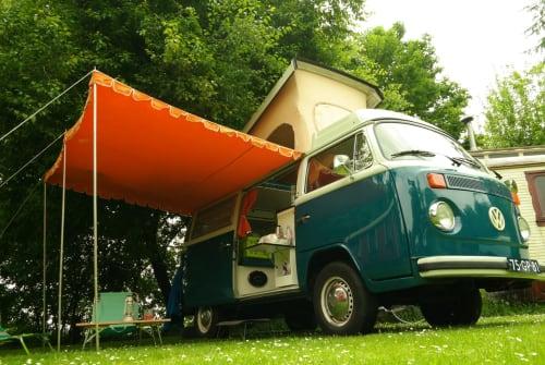Kampeerbus VW Joepie in Bemmel huren van particulier
