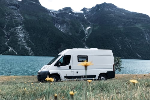 """Buscamper Peugeot """"Olaf"""" der Van in Köln huren van particulier"""