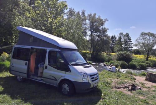 Kampeerbus Ford Odgar in Mainz huren van particulier