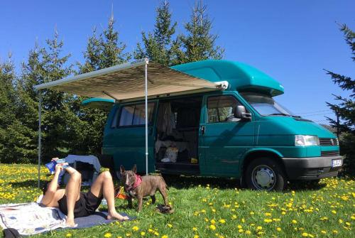 Kampeerbus VW   Pommes the Van in Berlin huren van particulier