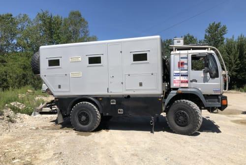 Overige MAN Expeditiecamper in Vriescheloo huren van particulier