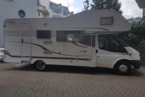 Alkoof Ford Carado Weltenbummler in Bremen huren van particulier
