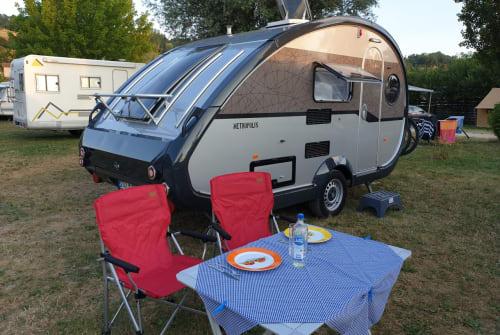 Caravan Knaus Tabbert T@b T@bby in Rheine huren van particulier