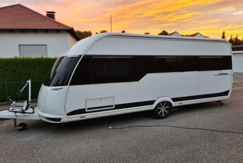 Caravan Hobby Speedexperience in Mering huren van particulier
