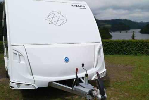Caravan Knaus Knauserine  in Bergheim huren van particulier