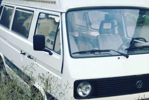 Kampeerbus VW Emma in Coburg huren van particulier