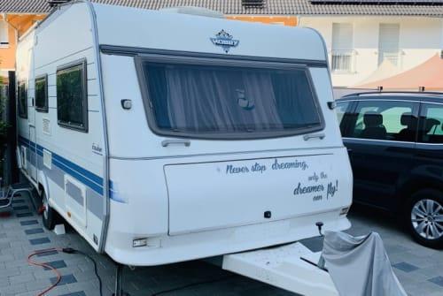 Caravan Hobby  Seute Deern  in Heitersheim huren van particulier