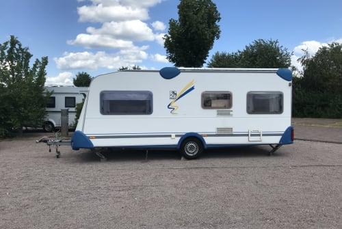 Caravan Knaus Blueline in Rüsselsheim am Main huren van particulier