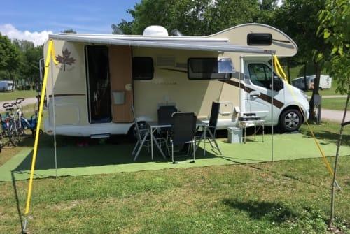 Alkoof Ahorn Camp Ahorn Canada AS in Pfullendorf huren van particulier
