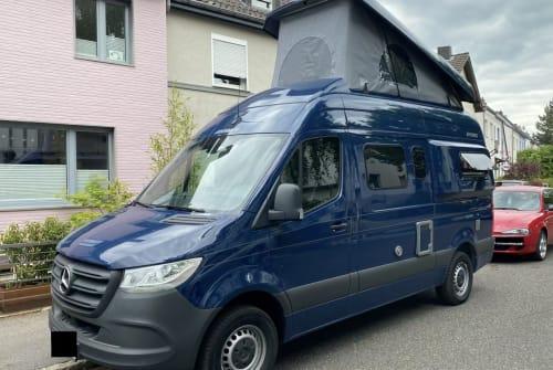 Buscamper Mercedes-Benz HymerCar KUNIBERT  in Aachen huren van particulier