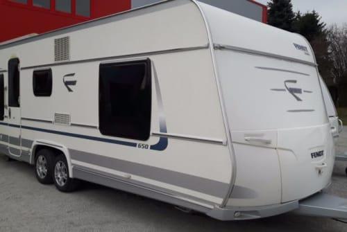 Caravan Fendt Diamant42 in Mannheim huren van particulier