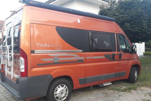 Buscamper Fiat Twin in Grünheide huren van particulier