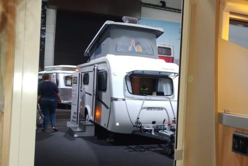 Caravan Hymer Eriba Feeling in Stelle huren van particulier