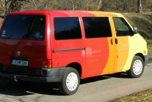 Kampeerbus VW Klecks in Karlsruhe huren van particulier