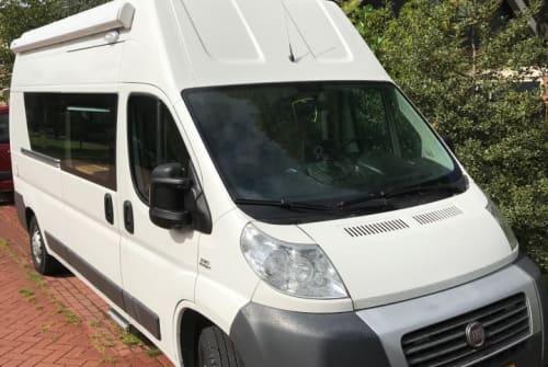 Buscamper Fiat Ducato camper in Noord-Scharwoude huren van particulier