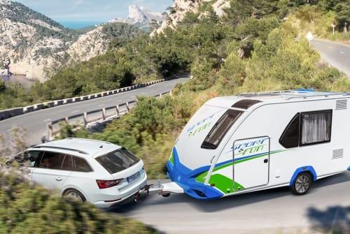 Caravan Knaus Sporty in Sigmaringen huren van particulier