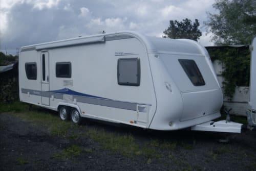 Caravan Hobby Luxus-Camper in Jork huren van particulier