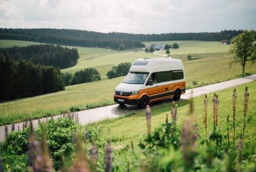 Buscamper Volkswagen Crafti in Gießen huren van particulier