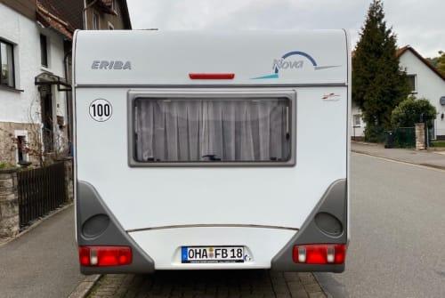 Caravan ERIBA James in Bad Sachsa huren van particulier