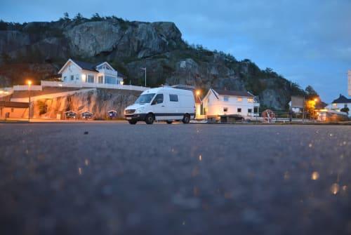 Buscamper Mercedes HighfiveVan in Buchholz in der Nordheide huren van particulier