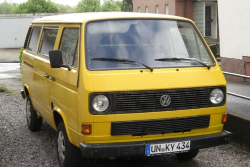 Kampeerbus VW Onkel Willi in Dortmund huren van particulier