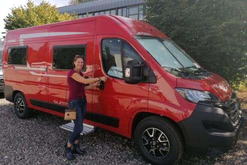 Buscamper Pössl Grisu in Nauheim huren van particulier