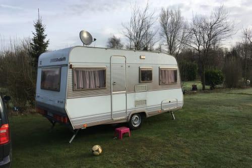 Caravan Dethleffs Familienkutsche in Bonn huren van particulier