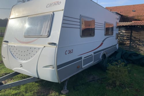 Caravan Carado Schmidti in Amt Tessin huren van particulier