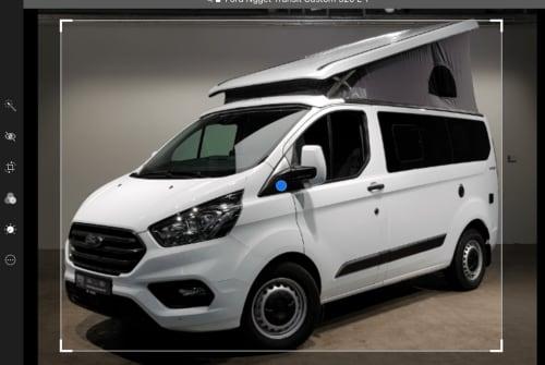 Kampeerbus Ford Nugget  Nugget in Volkertshausen huren van particulier