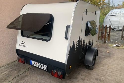 Caravan Kuckoo Campers Kleiner Kuckuck in Walheim huren van particulier