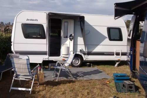 Caravan Dethleffs Nomad in Wolfertschwenden huren van particulier