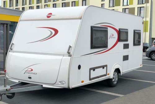 Caravan Bürstner  Leichter Premio in Ehringshausen huren van particulier