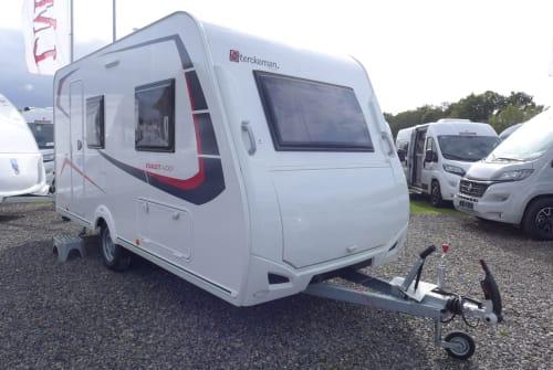 Caravan Sterckeman 2020 420CP in Hemer huren van particulier