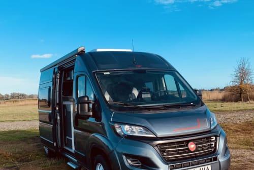 Buscamper Fiat Ducato Baltic Van in Baabe huren van particulier