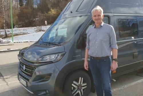Buscamper Knaus Tatschi in Olching huren van particulier
