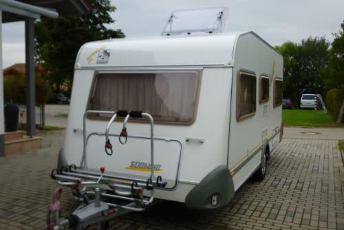 Caravan Kaus  Sunny in Simbach huren van particulier