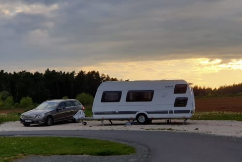 Caravan Dethleffs Esche in Wildberg huren van particulier