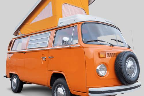 Kampeerbus Volkswagen Bus Parijs in Drachten huren van particulier