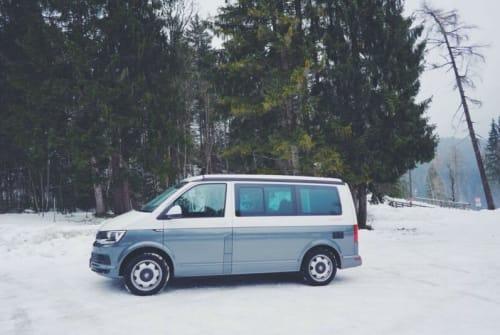 Kampeerbus VW Bruno  in München huren van particulier