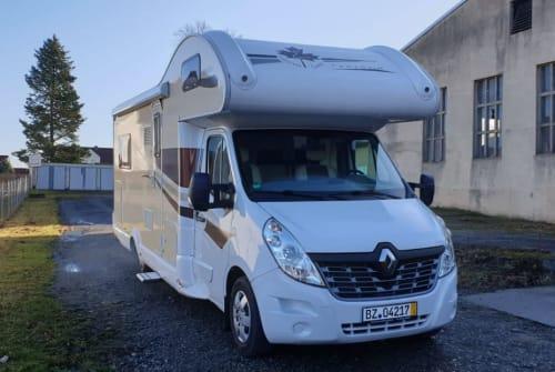 Alkoof Renault, Ahorn  Flotte Lotte in Ohorn huren van particulier