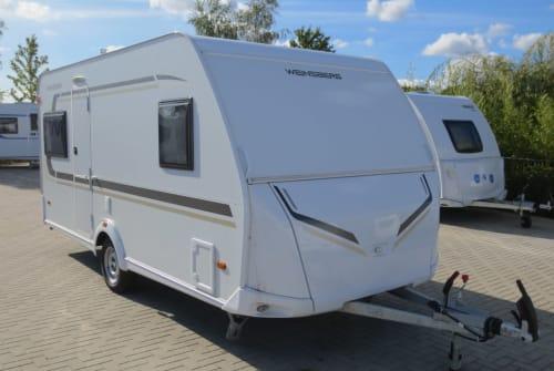 Caravan Weinsberg  Cara One450 FU in Neustadt huren van particulier