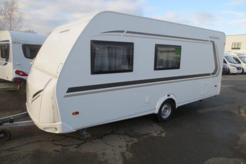 Caravan Weinsberg  CaraOne 480 QDK in Neustadt huren van particulier