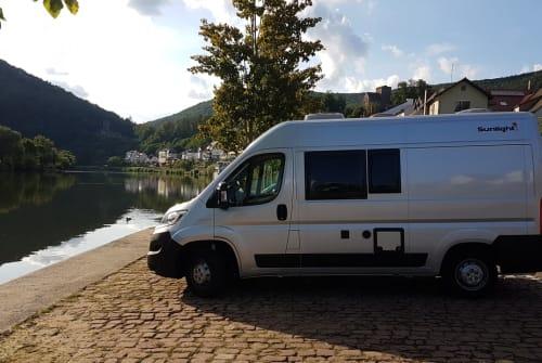 Buscamper Fiat Ducato Sunlight Sunny in Neckargemünd huren van particulier