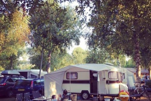 Caravan Constructam Vintage Connie in Peize huren van particulier