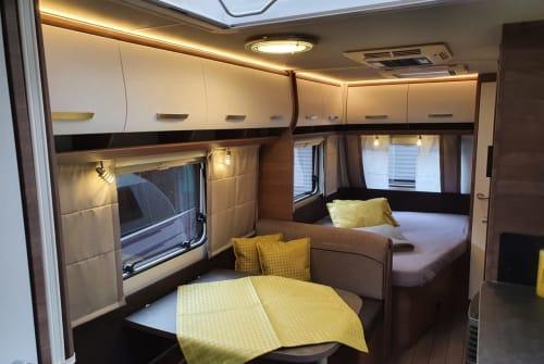 Caravan Knaus Knaus Sport 540 in Ettal huren van particulier