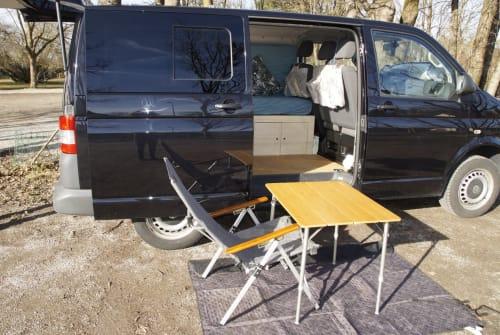 Kampeerbus VW Bastl in München huren van particulier