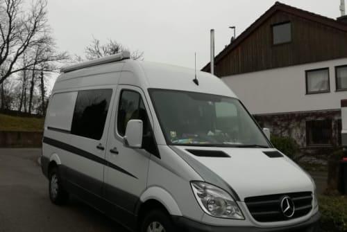 Buscamper Mercedes-Benz Sprintili in Melle huren van particulier